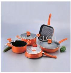 5PCS Aluminium Non stick Cookware Sets