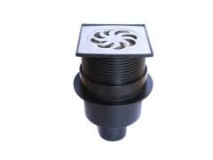 Straight-Line Floor Drain/HDPE valves