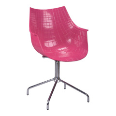 Best Pink ABS Seat office Armchair club dining room bedroom furniture design chairs shops