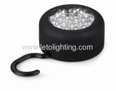 Round 24led Work Light 3AAA batteries Made in China