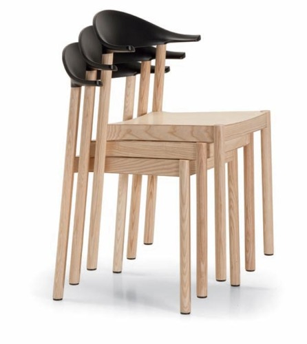 versatile and relaxing Mode of Seating-stackable chair