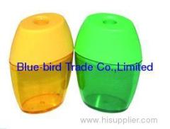 colourful plastic pencil sharpener
