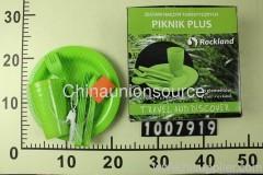 Plastic cutlery set