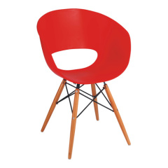 Red Wooden Base Ron Arad Tom Vac Leisure Chair recliners armchairs living room furniture outlet dining chairs shops