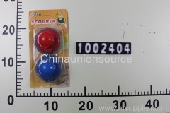 2Pcs Clean Ball With Plastic Handle
