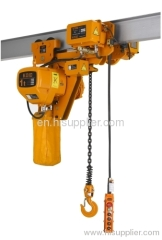 Super low lifting loop Electric Chain Hoist