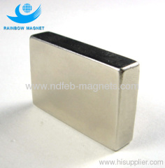 Neodymium Iron Boron block magnet N52