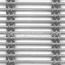 decorative metal curtain wall stainless steel 304 wire mesh
