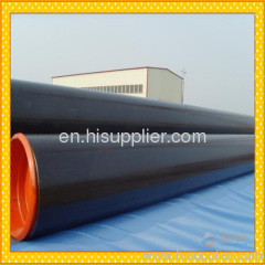 API5L GrB/X42/X46/X52/X56/X60/X65/X70 PSL1 seamless steel line pipe with 3PE coating from China Mill