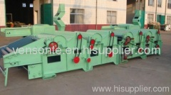fabric cotton waste/textile waste recycling machine