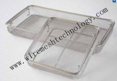 sterilization wire mesh basket