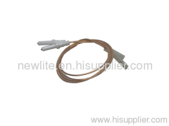 Ignition electrode, pulse igniter