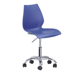 Gigh Quality wheels base Gas Lift Maui Desk Office Chair room computer furniture swivel side chairs on sale
