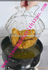 Low price stainless steel 201 wire fry basket