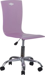 Pink Wheels base Gas Lift Wheeled Office Chair swivel 360 degree computer chair home furniture shops
