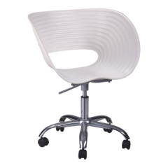 Best White wheels base seating office chairs