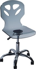 Swivel office side chairs