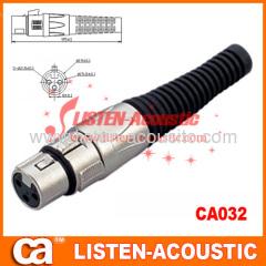 3pins XLR female MIC connectors