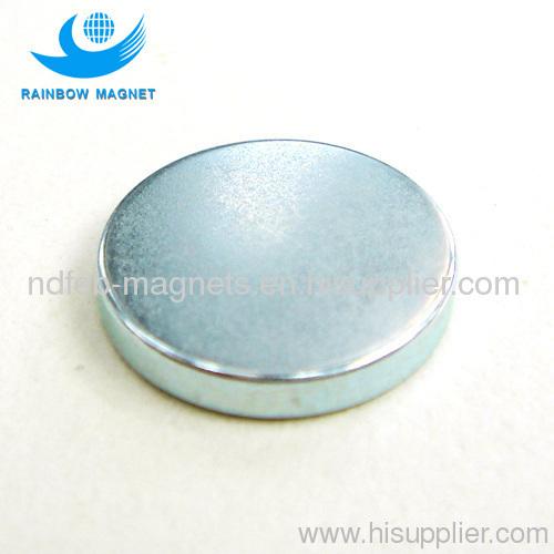NdFeB Disc Magnet. large round magnet. neodymium magnet disc