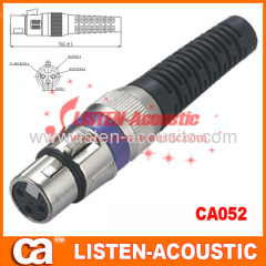3pins XLR female multicolor MIC connector