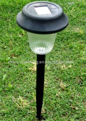 plastic solar patio stake lights