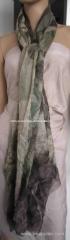 multi color modal woven scarf