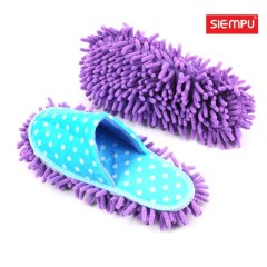 Microfiber Chenille Cleaning Slipper (XQH-C028A)
