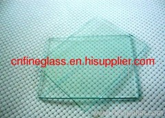 edging glass from plant