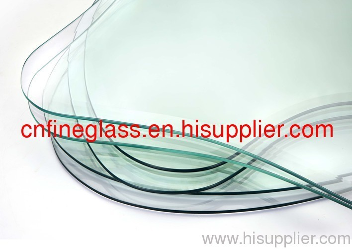 epolishing tempered  edging glass