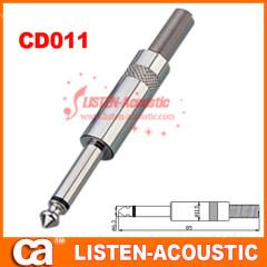 6.3mm mono / stereo plug connector CD011/011N