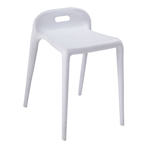 White Plastic Barstools Side Chair From China Manufacturer