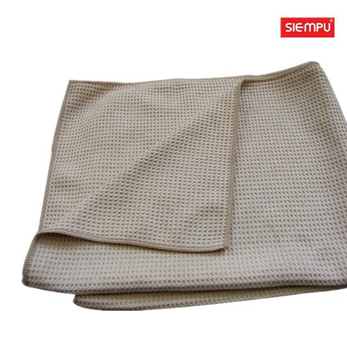 Microfiber Waffle Style Car Cleaning Cloth (XQC-C013)