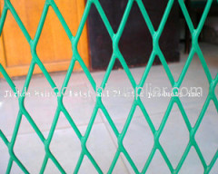 galvanized expanded wire mesh fence