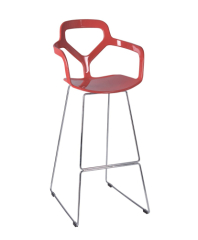 Gorgeous Style PP Fashion Bar Chair reb height stools counter pub bistro room furniture chairs store