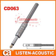 6.3mm mono / stereo plug connector CD063/063N