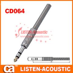 6.3mm mono / stereo plug connector CD064/064N
