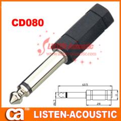 6.3mm mono / stereo plug connector CD080/080N