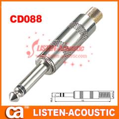 6.3mm mono / stereo plug connector CD088/088N