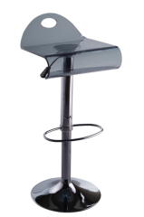 Modern style Arcylic Bar Chair gas lift Foootrest height barstools kitchen room furniture side chairs for sale
