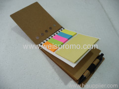 promotion Memo pad notebook