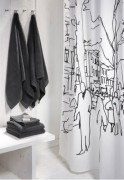 Bring natural beauty for the bathing room with artist Shower Curtains