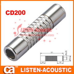 6.35mm mono / stereo female jack plug connector