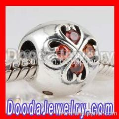 european Style Birthstone Charms