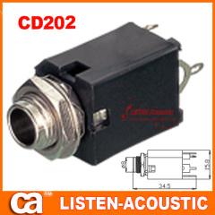 mono / stereo female jack socket CD202/202N