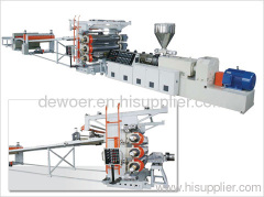 plate machine production line