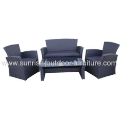 wicker sofa for garden furniture