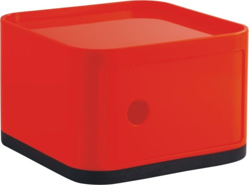 Charmant Chinese Factory Manufacturer Smart Collection Box Red Plastic Square  Storage Box Wholesale