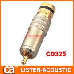 RCA connector banana plug CD325