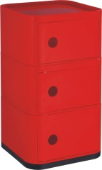 China manufacturers suppliers Red Plastic Square Storage Box 3 Layers Units mould plastics