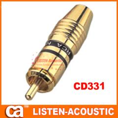 RCA connector banana plug CD331